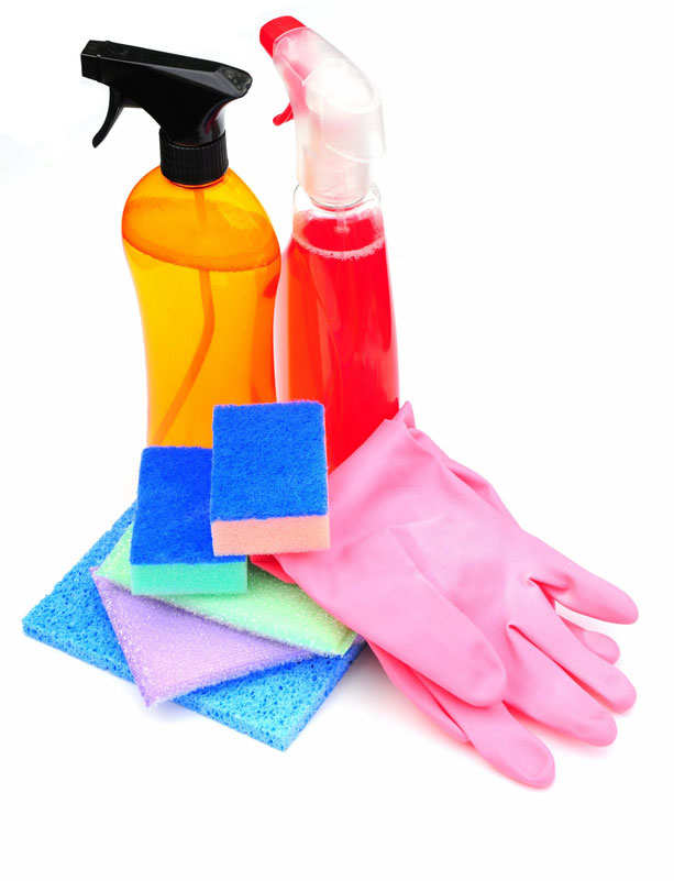 Cleaning Supplies Variety